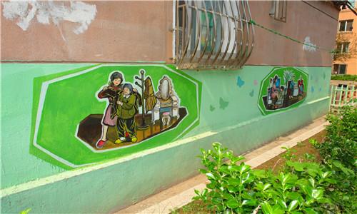 大连打造社会主义核心价值观主题教育街图片